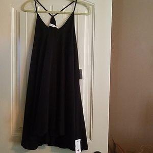 Black strappy new dress